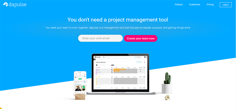 Dapulse project management
